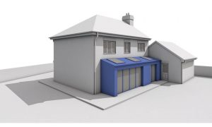 planning applications Planning Applications Permission Drawings Architecture Extension Quote Single storey rear extension pitched roof with return for detached property 300x180