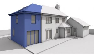 planning applications Planning Applications Permission Drawings Architecture Extension Quote Two storey side extension hip pitched roof 300x180